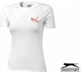 Slazenger Ace Women's T-Shirts - White  by Gopromotional - we get your brand noticed!