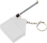 House Shaped Keyring Tape Measure  by Gopromotional - we get your brand noticed!