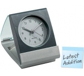 Paris Frosty  Travel Alarm Clock  by Gopromotional - we get your brand noticed!
