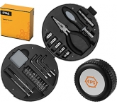 25 Piece Tyre Shaped Tool Kit  by Gopromotional - we get your brand noticed!