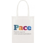 Mapplewell ColourBrite Non-Woven Tote Shopper  by Gopromotional - we get your brand noticed!