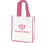 Melbourne Micro Contrast Shopper  by Gopromotional - we get your brand noticed!