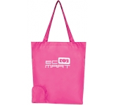Metro Foldable Printed Shopping Bag  by Gopromotional - we get your brand noticed!
