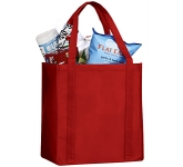 Jersey Non-Woven Grocery Tote Bag  by Gopromotional - we get your brand noticed!