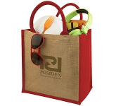 Bombay Natural Cotton Jute Gift Bag  by Gopromotional - we get your brand noticed!