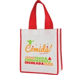 Spectrum Mini Contrast Tote Shopper  by Gopromotional - we get your brand noticed!