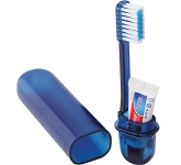Geneva Travel Toothbrush Kit  by Gopromotional - we get your brand noticed!