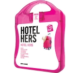 Her Hotel Survival Case  by Gopromotional - we get your brand noticed!
