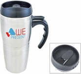 Raphael Stainless Steel Travel Mug  by Gopromotional - we get your brand noticed!