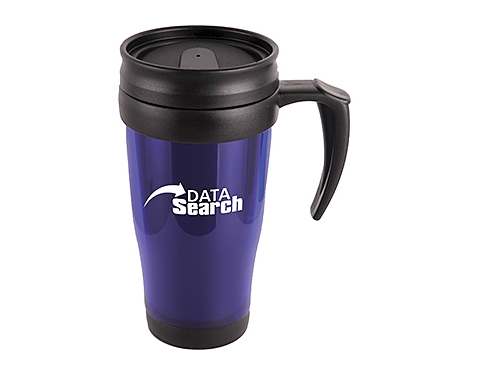 Echo Coloured 400ml Thermo Travel Mugs