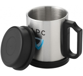 Treker Printed Stainless Steel Travel Mug  by Gopromotional - we get your brand noticed!