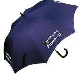 Metro Automatic Branded Walking Umbrella  by Gopromotional - we get your brand noticed!