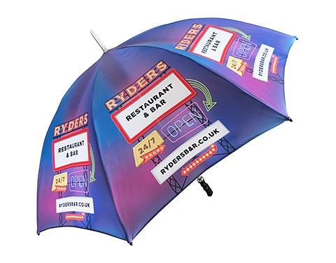 Eclipse Silver Golf Umbrella