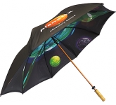 Spectrum Sport Wood Double Canopy Golf Umbrella  by Gopromotional - we get your brand noticed!