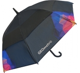 Trekker Executive Auto Vented Printed Walking Umbrella  by Gopromotional - we get your brand noticed!