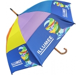 Spectrum Urban Wood Vented Umbrella  by Gopromotional - we get your brand noticed!