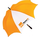 Orion Black Medium Walking Umbrella  by Gopromotional - we get your brand noticed!