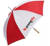 Super Budget Automatic Walking Umbrella  by Gopromotional - we get your brand noticed!
