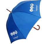 Naples Corporate Woodstick Umbrella  by Gopromotional - we get your brand noticed!