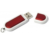 Rubber 3 FlashDrive  by Gopromotional - we get your brand noticed!