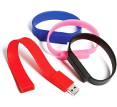 Wristband FlashDrive  by Gopromotional - we get your brand noticed!