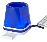 Discovery 4-in-1 USB Desk Hub  by Gopromotional - we get your brand noticed!