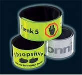 Adult Reflective Slapband  by Gopromotional - we get your brand noticed!