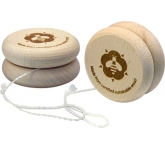 Eco Wooden Yo Yo  by Gopromotional - we get your brand noticed!