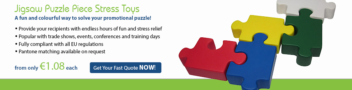 Jigsaw Puzzle Piece Stress Toy