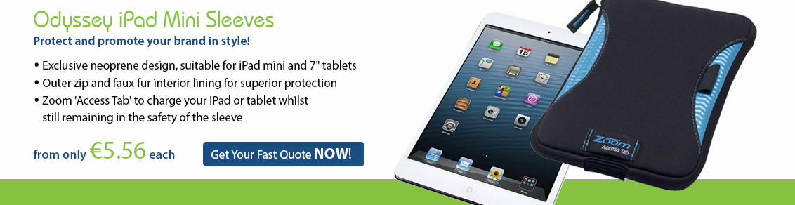 Odyssey iPad mini sleeve