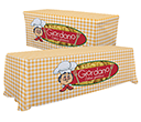 Convertible Table Cloths - 6ft - 8ft  by Gopromotional - we get your brand noticed!
