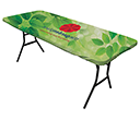 8ft Ultrafit Table Toppers  by Gopromotional - we get your brand noticed!