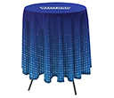 Cafe Bar Height Round Tablecloths  by Gopromotional - we get your brand noticed!