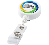 Delegate Retractable Rollerclip Keyring