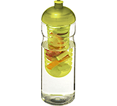 H20 Impact 650ml Domed Top Fruit Infuser Sports Bottle