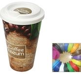 ColourBrite Cubana 350ml Take Away Coffee Mug