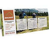 Quad Desk Calendar