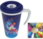 ColourBrite Cubana Cafe 350ml Printed Travel Mug