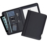 Tewksbury Zipped Leather Tablet Folder