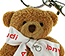 Teddy Bear Keyrings