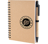 A6 Hamilton Natural Pocket Notebook & Pen