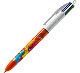 BIC 4 Colours Fine Point Pen - Full Colour