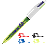 BIC 4 Colours Fluo Highlighter Pen