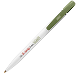 BIC Media Clic Ecolutions Pen - White Barrel