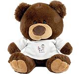 25cm Charlie Bear With T-Shirt