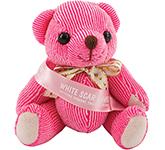 Candy Bear With Ribbon Sash