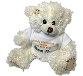 12cm Paw Bear With T-Shirt