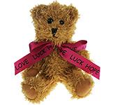 15cm Sparkie Bear With Bow