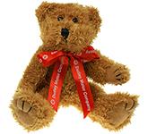 20cm Sparkie Bear With Bow