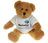 25cm Sparkie Bear With T-Shirt